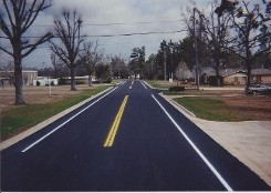 Road Striping in Hideaway, TX